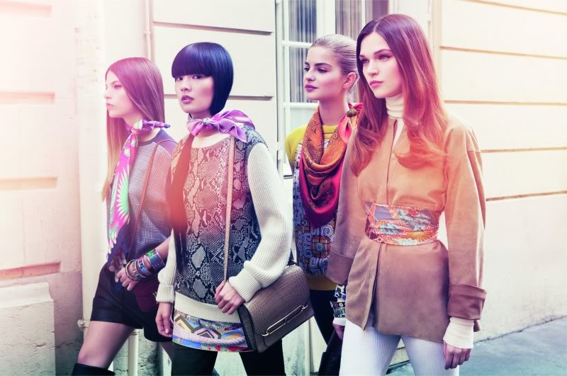 scarves styles in Paris