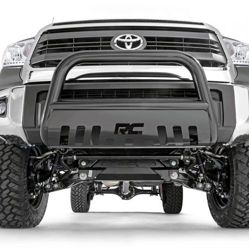 toyota bull bar black