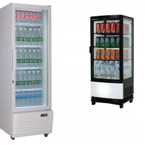 One Glass Door Display Cooler