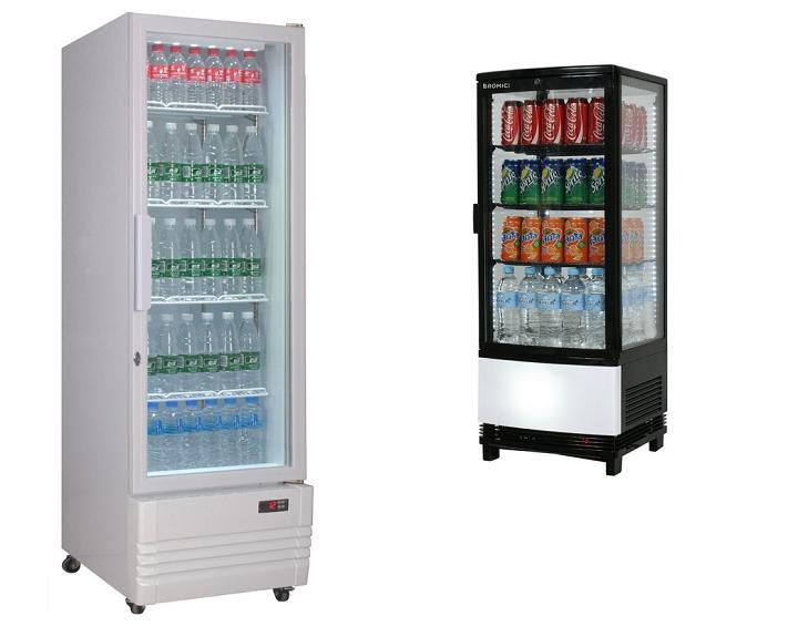 One Glass Door Display Cooler
