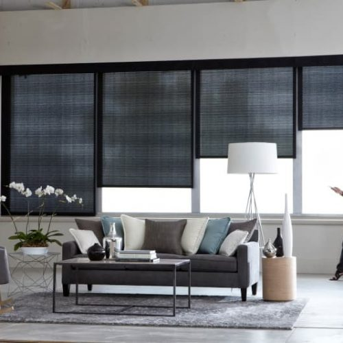 electric automated blinds