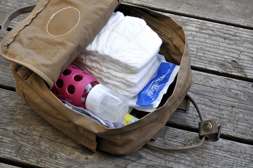 Diapers-and-diaper-bag