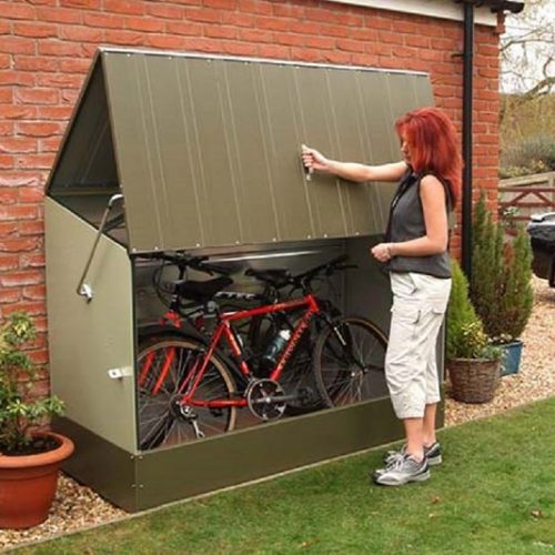 small shed bike