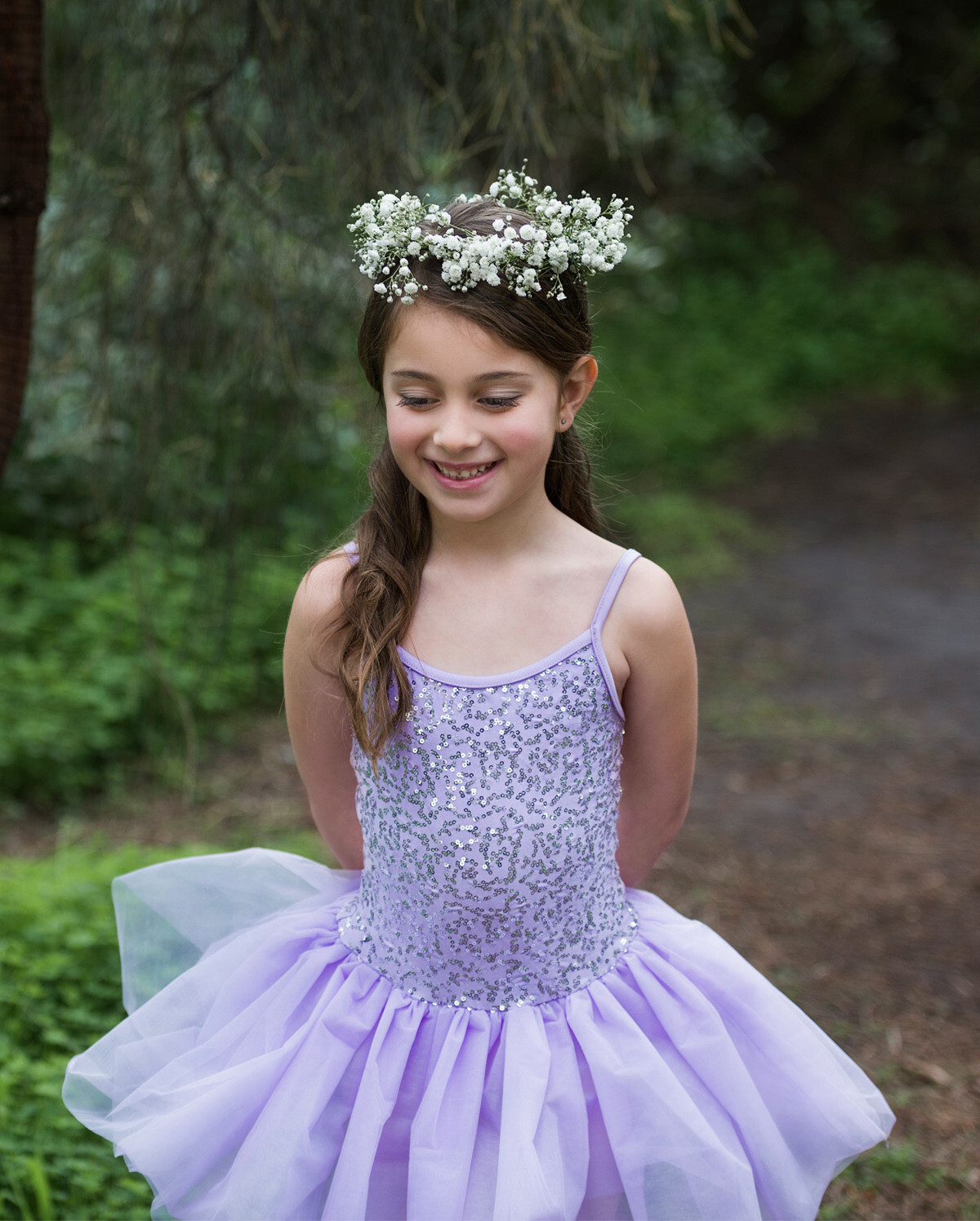 sequin dancewear tutu dress
