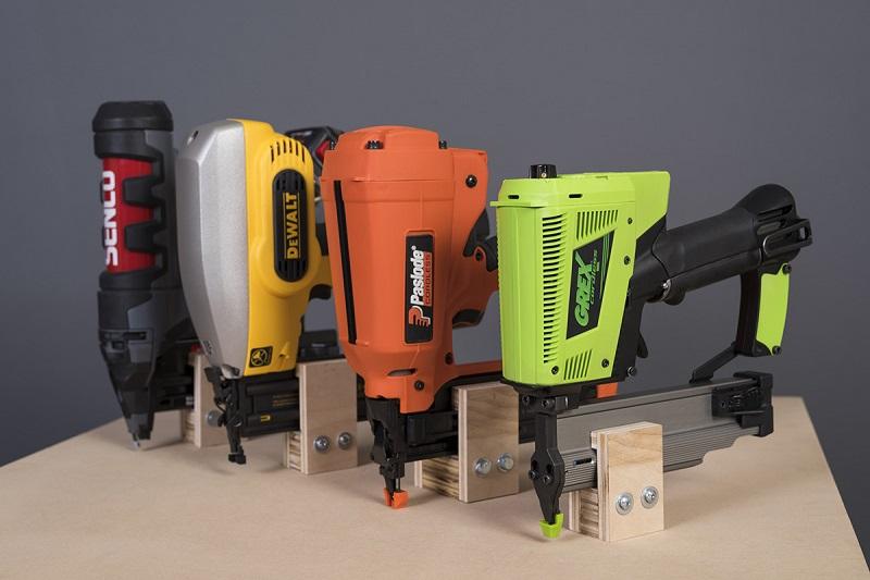 four types of cordless nail guns