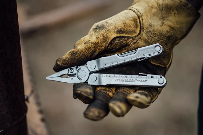 working with leatherman rebar