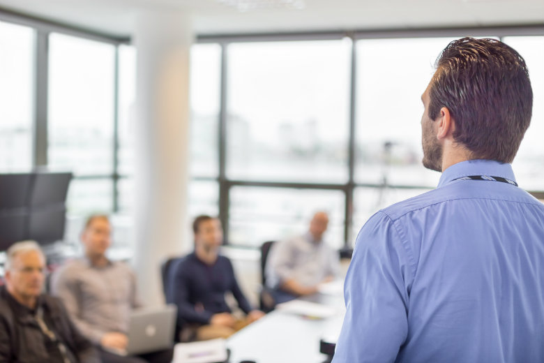 presentation at office directors insurance