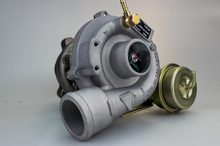 close-up of turbo