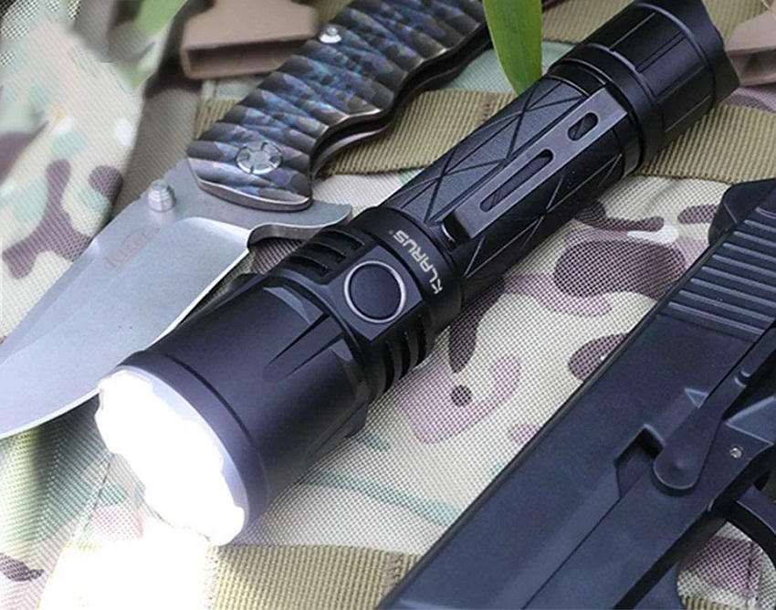 picture of Klaus tactical flashlight