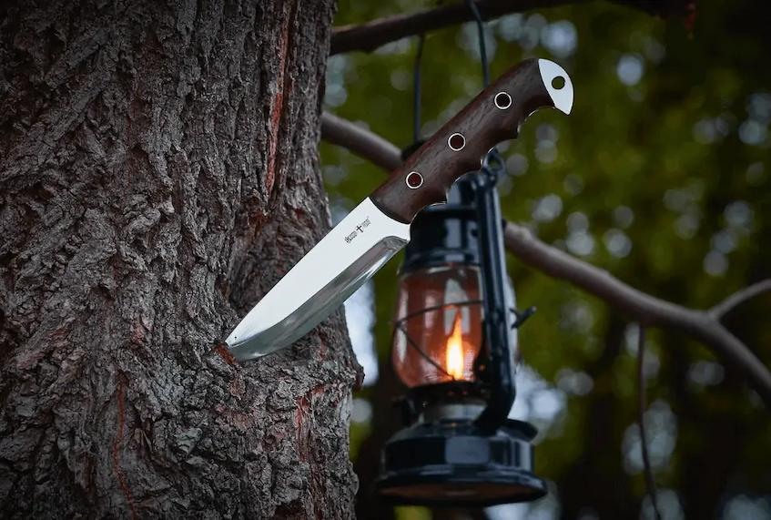 A bowie knife