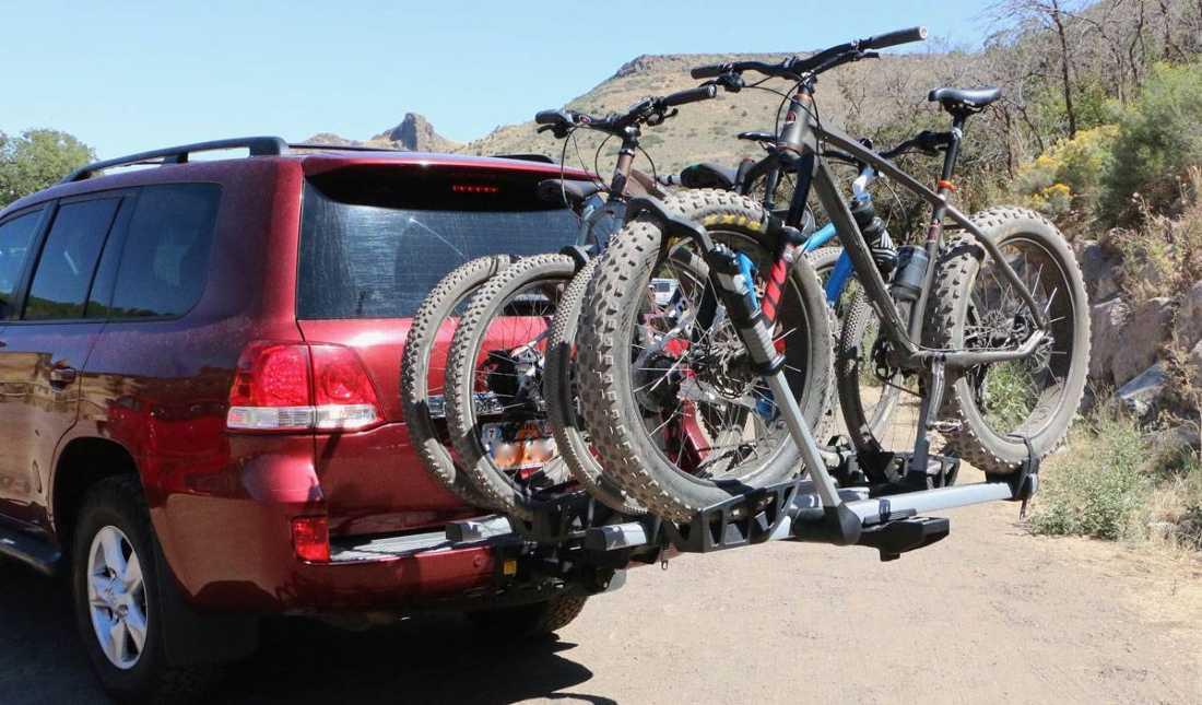 electronic bike rack